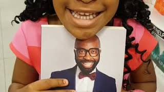 DJ Sbu's 5 year old daughter Waratwa promoting her dad's book