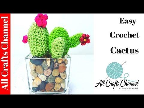 Easy to Crochet Cactus  / Cacti