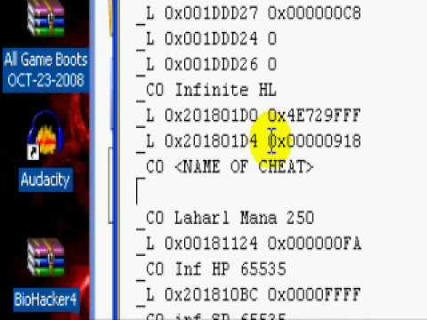 How To Add New Cheat Codes To CWCheat Tutorial *Download Included*