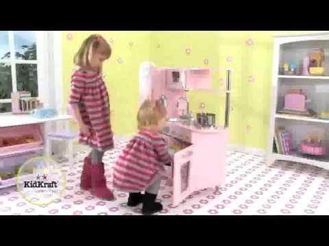 d-edition tv präsentiert die kidkraft spielküche holz 53179 retro