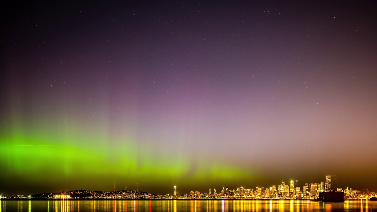 Northern Lights may dance over western Washington tonight