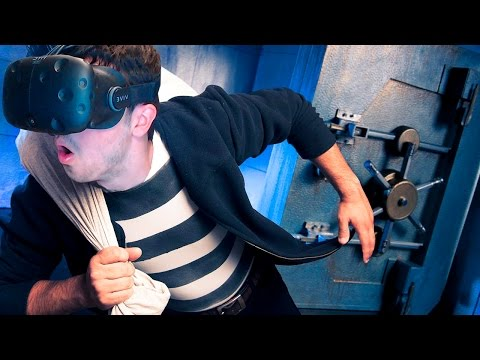 ATRACO EN REALIDAD VIRTUAL (HTC VIVE)