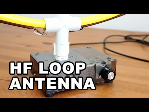 HF Indoor Loop Antenna DIY - Simple & Easy to Build - YouTube