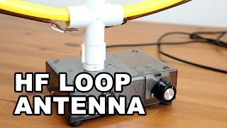 HF Indoor Loop Antenna DIY - Simple & Easy to Build