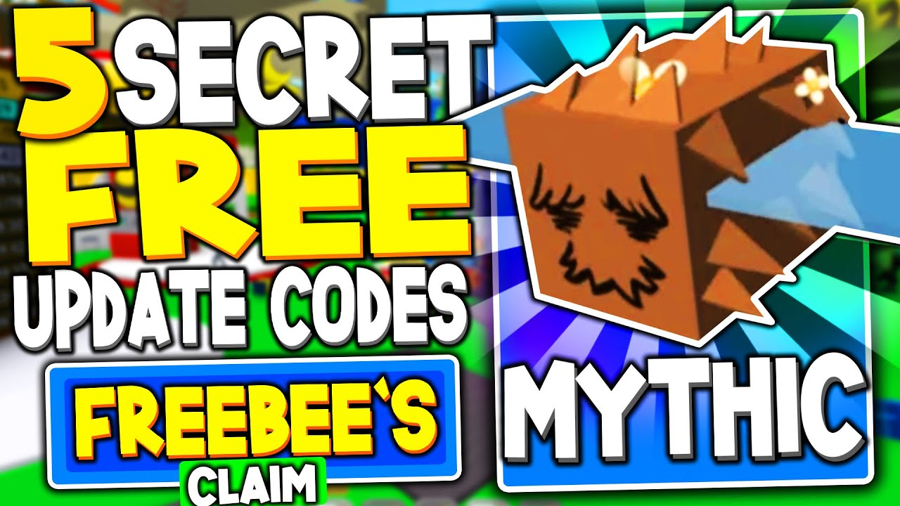 All 5 Secret Mythical Bee Update Codes In Bee Swarm Simulator
