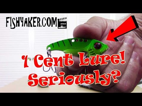 I got this fishing lure for 1 cent... Seriously! - Fishyaker: Episode 548