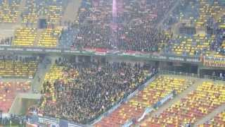 Romania-Hungary 1-1- Hungarian fans celebrating a draw- dissapointing -Euro 2016 - National Arena