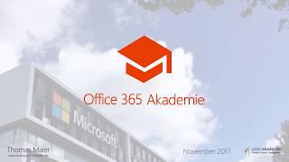 17-11 Office 365 Akademie News