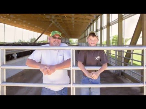 Brad Mapes talk about feeding cattle indoors