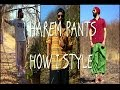HAREM PANTS: HOW I STYLE: DIFFERENT WAYS