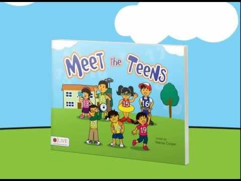 Meet the Teens - Marcie Cooper's kids' number book