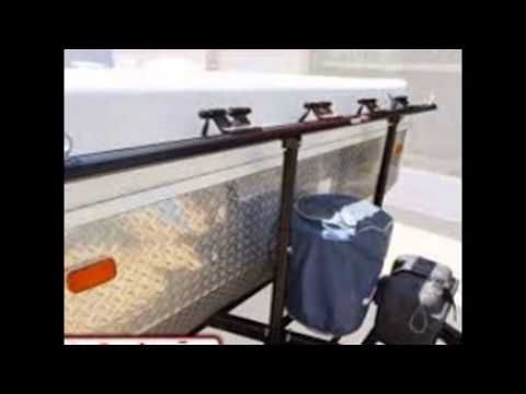 Tent Trailer Bike Rack Youtube