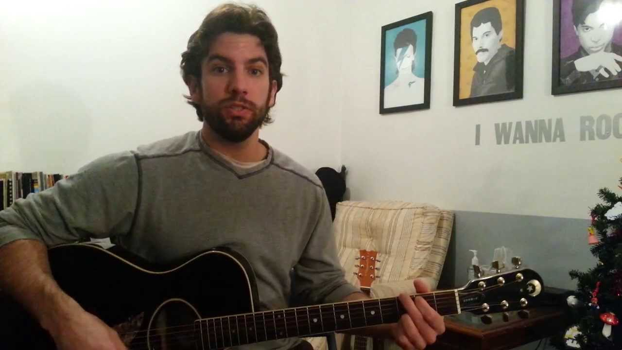 Daughtry Waiting For Superman Guitar Chords Lesson By Shawn