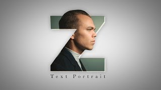 Letter Portrait Text Effect - Picsart Logo Designing Editing Tutorial