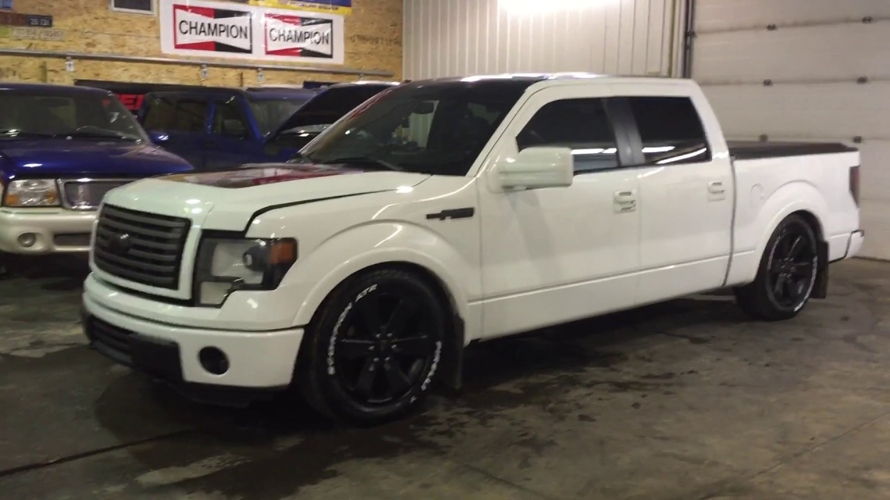 Lowered 4wd Ford F150 - YouTube  Lowered 4wd For...