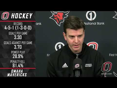 Omaha Hockey News Conference: Nov. 21