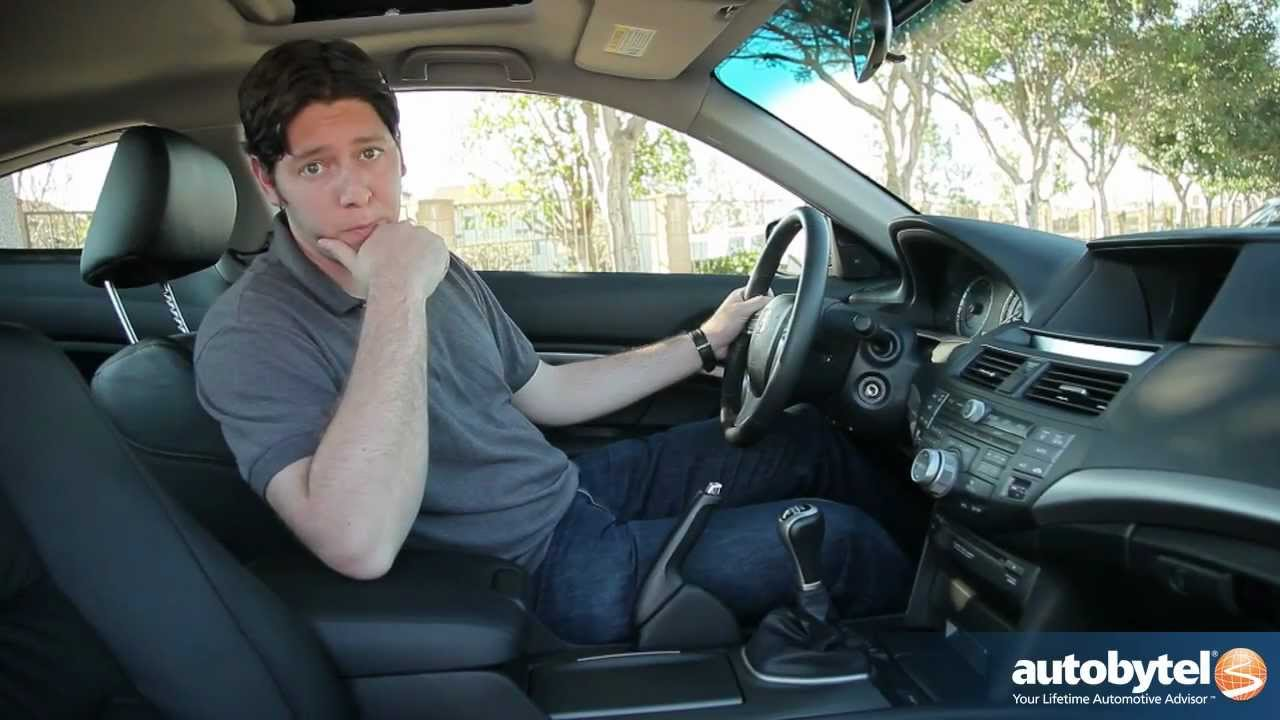 2012 Honda Accord Coupe Test Drive Amp Car Review Youtube