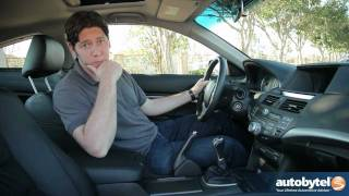 2012 Honda Accord Coupe Test Drive & Car Review