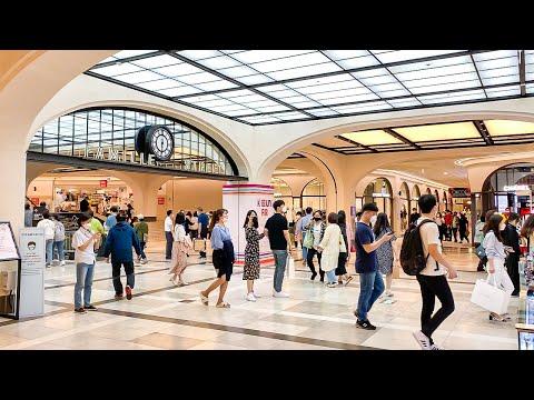 [4K] Walk the largest underground shopping mall for women in Seoul Korea 서울 고속터미널 지하쇼핑몰 고투몰 파밀레 스테이션