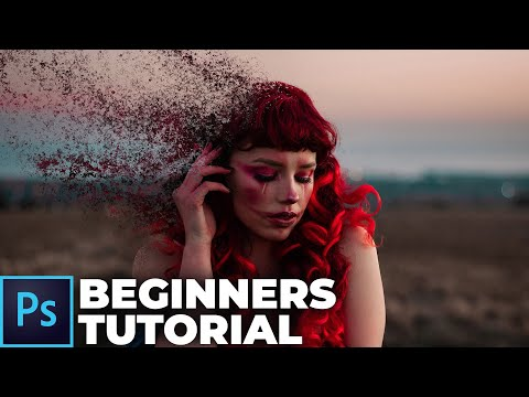 Disintegration Effect In Under 5 Minutes (Photoshop Beginners Tutorial)