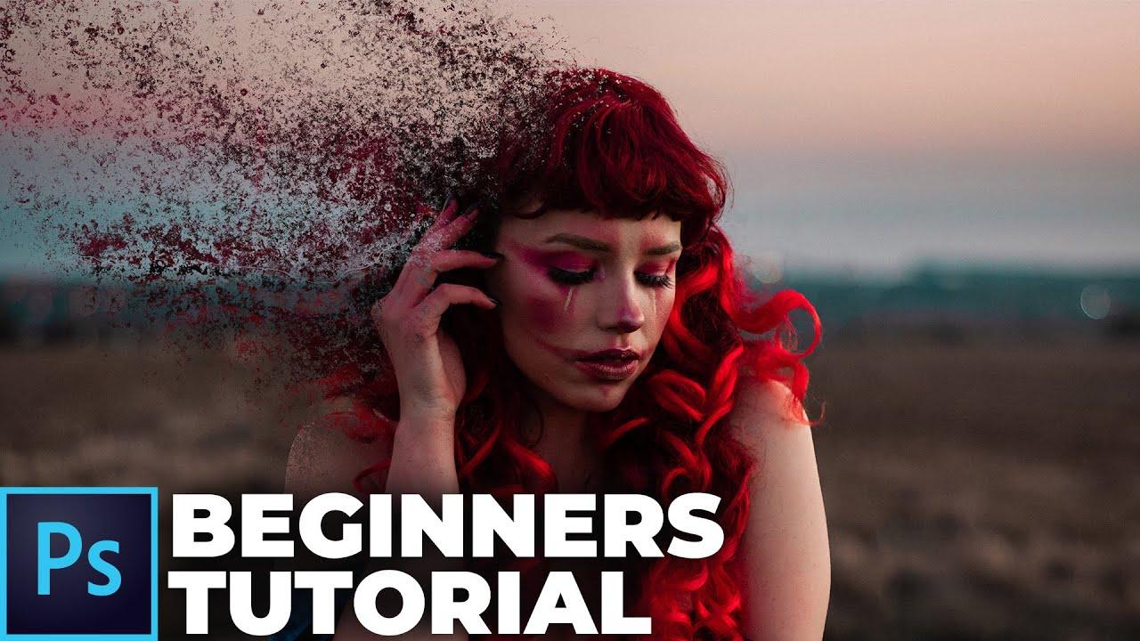 Disintegration Effect Under 5 Minutes (Photoshop Beginners Tutorial)