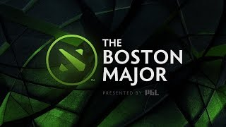 [EN] The Boston Major - Day 1 - Group Stage