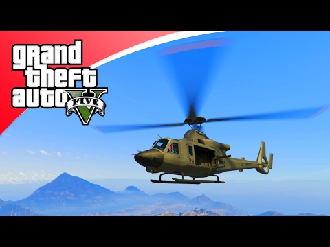 GTA V Freeroam - HELI KILLERS WANDER EN CROMO! (GTA 5 Online)