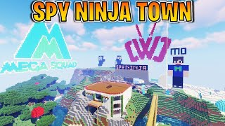 🔴 Building a Spy Ninja Town in Minecraft LIVE! Join for Fun Challenges!