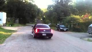cadillac dts on 20in G10's