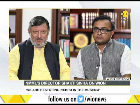 Wion exclusive interview with NMML's director Shakti Sinha