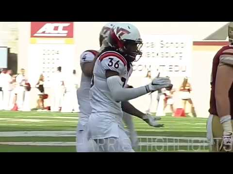 Adonis Alexander  Top 5 Corner in Nation  Virginia Tech Highlights