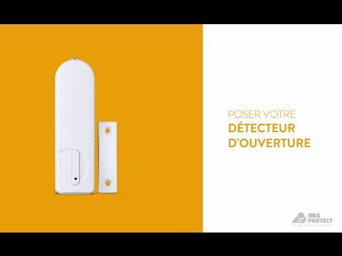posez votre d tecteur d 39 ouverture la t l surveillance essentielle youtube. Black Bedroom Furniture Sets. Home Design Ideas
