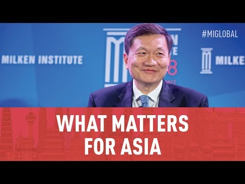 A World in Transition: What Matters For Asia
