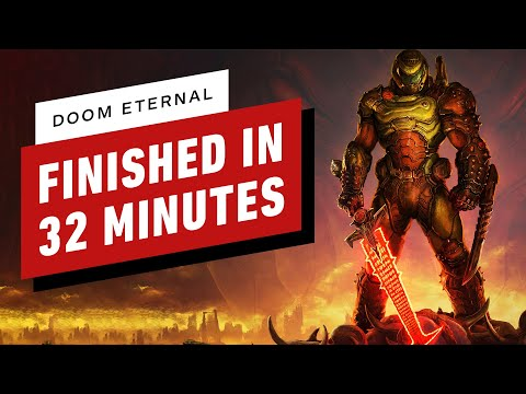 Doom Eternal Finished in Under 33 Minutes