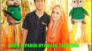 Cakra Khan Ft  Siti Nurhaliza - Seluruh Cinta Lyric Versi Alvin And The Chipmunk