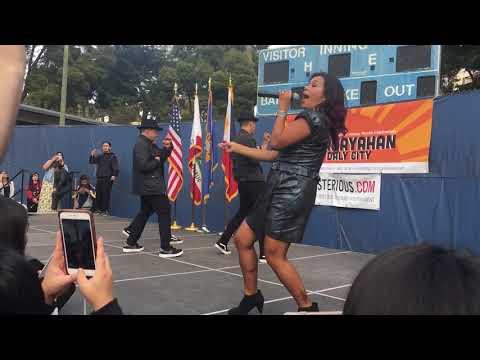 Jocelyn Enriquez in Daly City CA  Kasayahan 102018