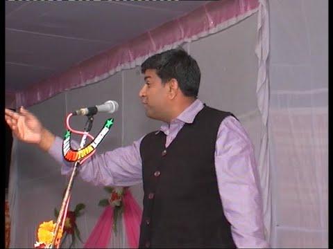 COMEDIAN PK MAST at Hasya Kavi Sammelan in Malviya Nagar, JaIPUR