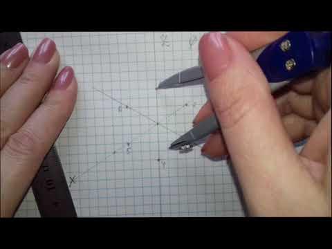 окружность в изометрии ХY