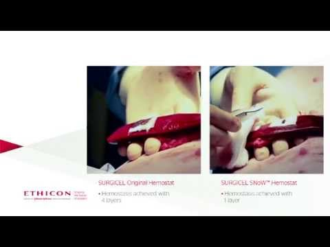 SURGICEL SNoW™ vs SURGICEL® Original Hemostatic Efficacy Study