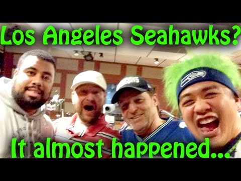 How we almost became the Los Angeles Seahawks! 950 KJR Interview (Norblog#54)