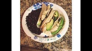 Cilantro & Lime Chicken Tacos Recipe