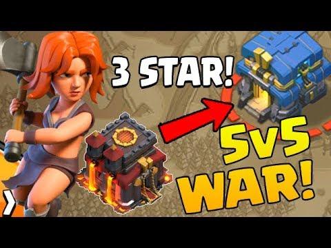 10v12 3 STAR???  5v5 Fridays | Clash of Clans