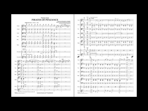 Themes from Pirates of Penzance by Gilbert and Sullivan/arr. Curnow