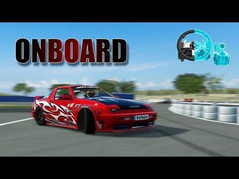 LFS - Drift Onboard G27 - Handbrake