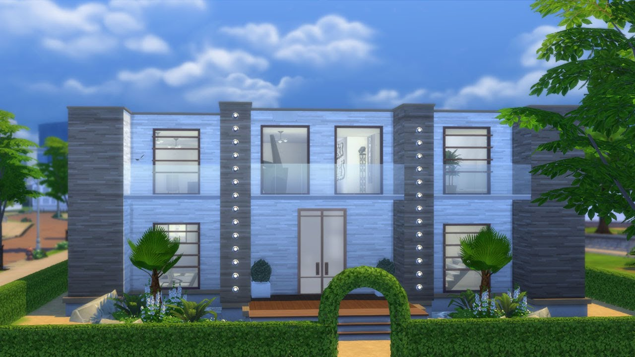 Les sims 4 maison des colocataires construction for Image construction maison