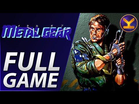 Metal Gear (1987) MSX - Complete Walkthrough