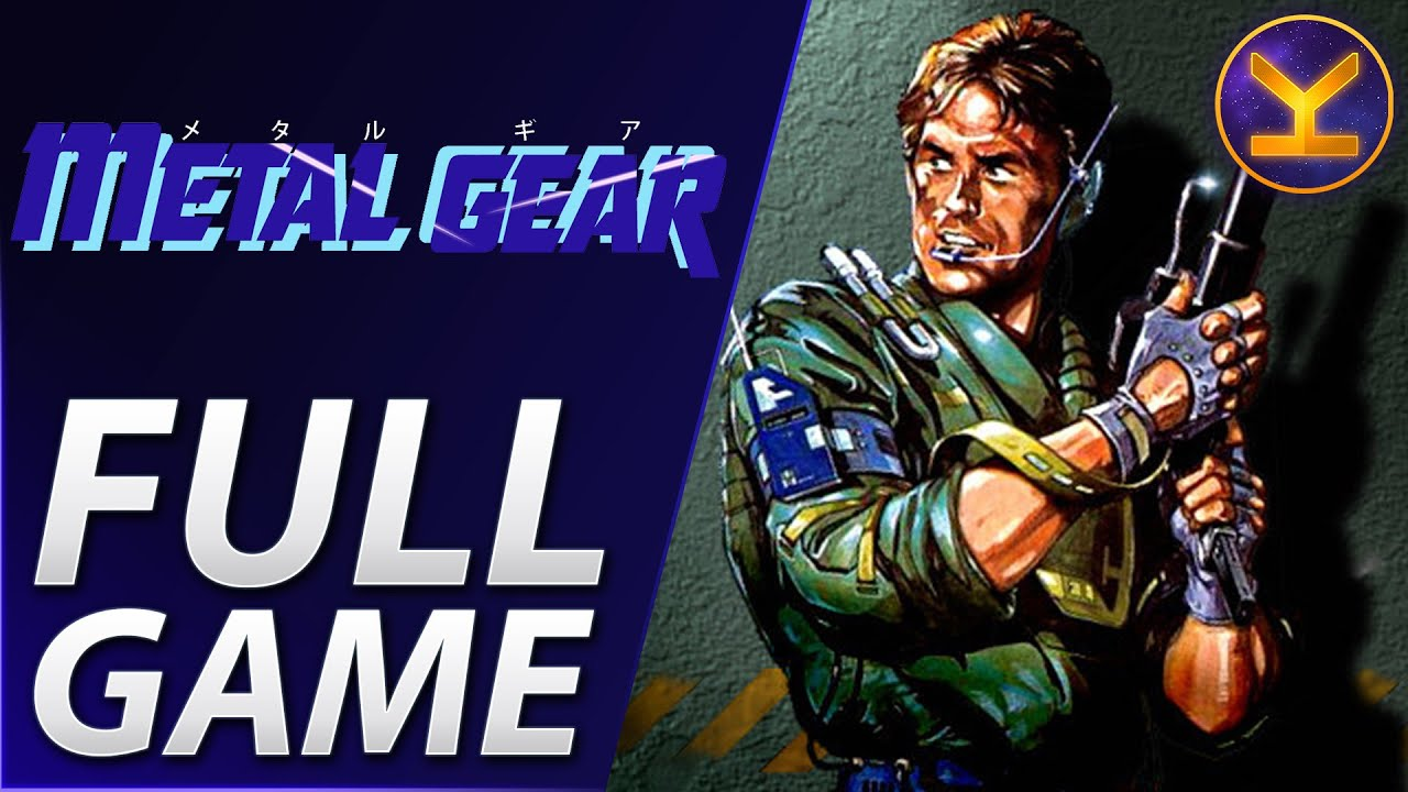 Metal Gear 1987 MSX Complete Walkthrough YouTube