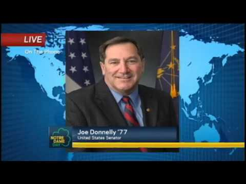 Interview with Senator Joe Donnelly - Notre Dame Day 2014