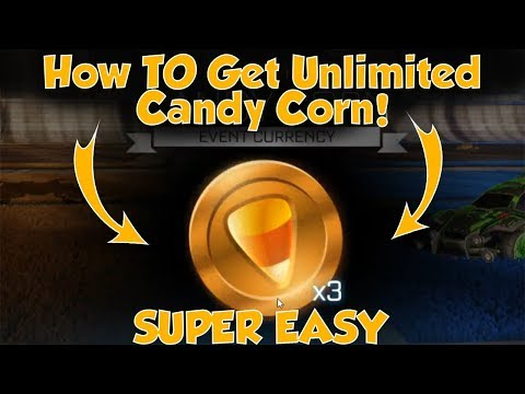 HOW TO GET UNLIMITED CANDY CORN IN ROCKET LEAGUE!! *NOT CLICKBAIT*(SUPER EASY, MUST WATCH)