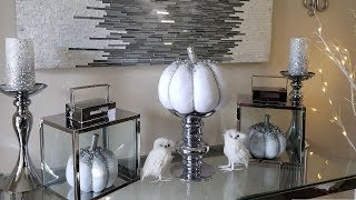 Glam Fall Ideas! eFavormart Candle Holders and DiKaou Bluetooth Flameless Speaker